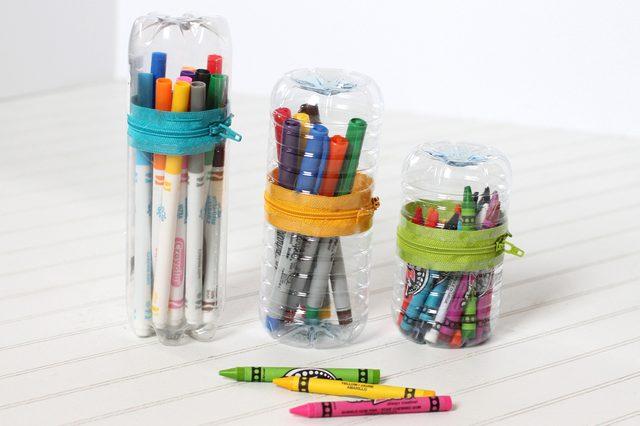 Tempat Pensil dari Botol Plastik Bekas – My Paw Craft 60ad6cab00