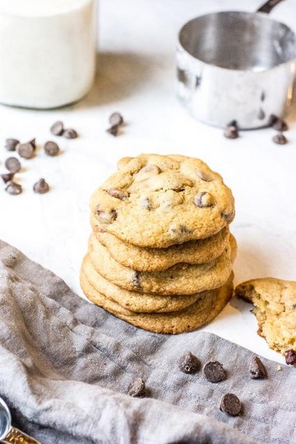 Choco chips cookies siap untuk dinikmati!