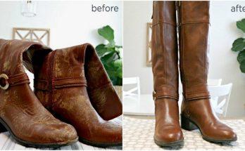 Cara membersihkan sepatu bot tanpa merusaknya.