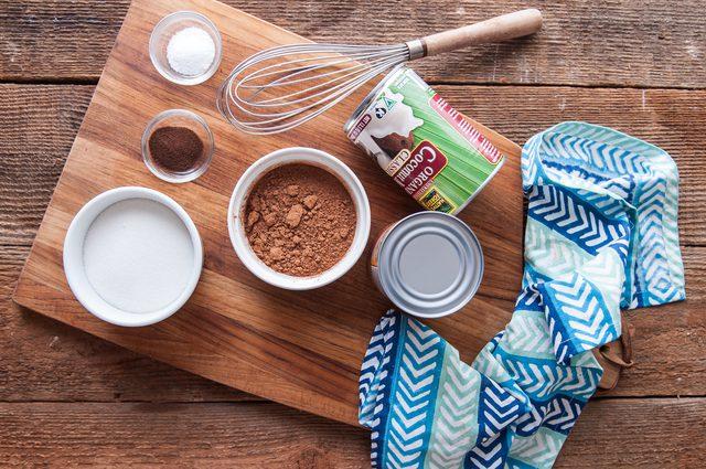 bahan untuk resep es krim vegan