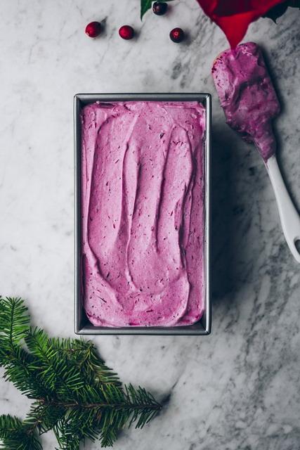 cara membuat es krim cranberry