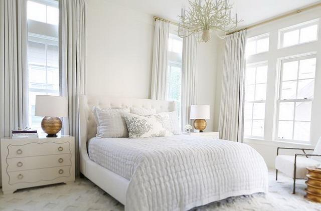 memilih tirai untuk kamar tidur berdasarkan ukuran jendela