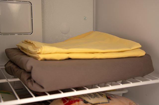 kegunaan freezer untuk menghilangkan bau pada barang atau pakaian