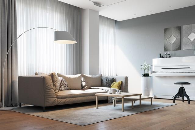 menata ruang tamu agar lebih nyaman dengan mengatur pencahayaan
